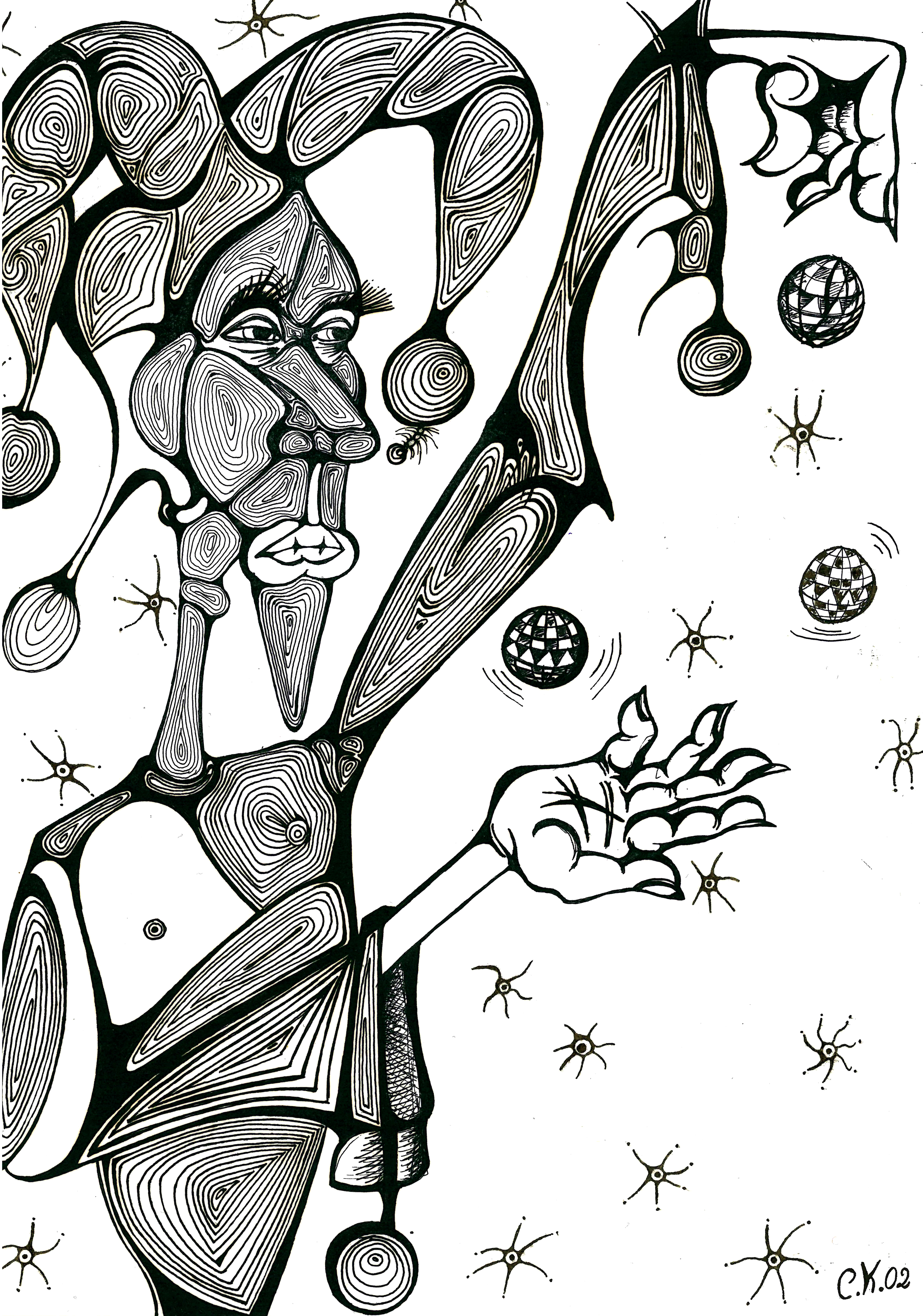 L-scan CK - jongleur - 2002 - retouch